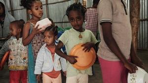 The UN said 33,000 children in Tigray are severely malnourished