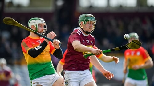 Darragh Clinton was one of a number of Westmeath players to make an impact from the bench against Carlow