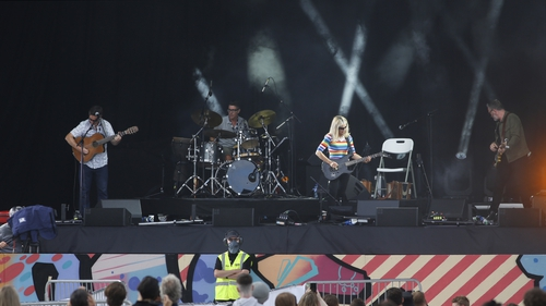 Pilot music events were held over the summer (File: RollingNews.ie)