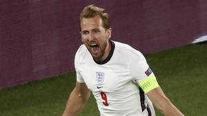 Harry Kane helped England to a huge victory