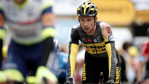 A battered and bruised Primoz Roglic has been forced to shift his focus to the Olympic Games