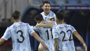Lionel Messi is the top scorer at the Copa America with four goals