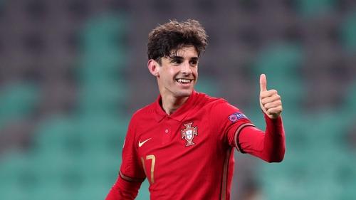 Trincao is also an underage Portuguese international
