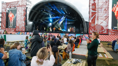 More than 4,000 people were tested at the pilot festival
