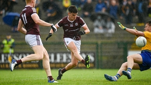 Paul Kelly scores a first-half goal against Roscommon