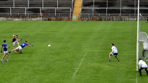 Lorcan Dolan found the back of the net with this effort at O'Connor Park