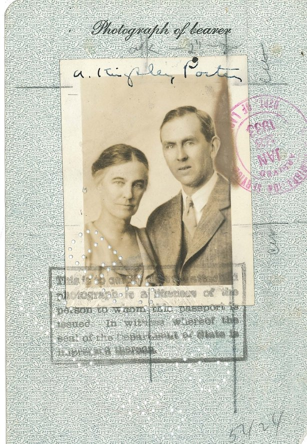 Lucy and Arthur Kingsley Porter pictured here. Photo credit: Harvard University Archives