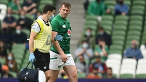 Chris Farrell failed a HIA after leaving the pitch against Japan