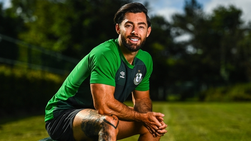 """Richie Towell: """"When Europe comes around it's an amazing experience."""""""