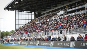 Scenes like this at Saracens' Allianz Park will be become more common in a fortnight's time