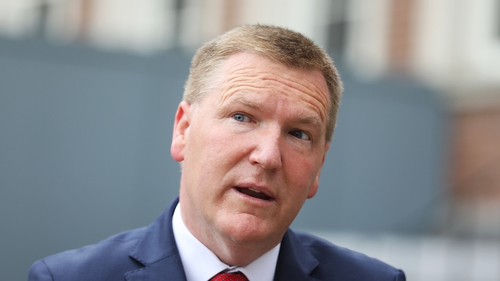 The Minister for Public Expenditure and Reform Michael McGrath has published the Mid-Year Expenditure Report (Pic: RollingNews.ie)