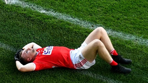 Brian Hurley after Cork's Munster final defeat to Tipperary last November