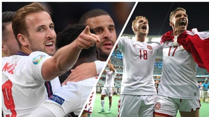 England and Denmark square off at Wembley