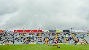 Fans were at the LIT Gaelic Grounds for Clare's battle with Tipperary