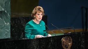 Irish Ambassador to the United Nations Geraldine Byrne Nason wants to see human rights issues addressed in Afghanistan