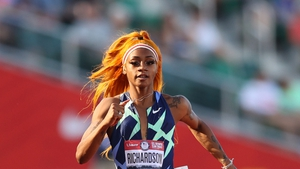 Richardson had already been withdrawn from the 100 metres