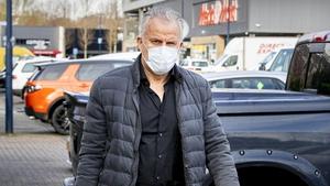 Crime reporter Peter R. de Vries photographed last April