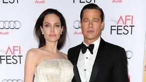 Angelina Jolie and former husband Brad Pitt