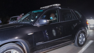 A convoy, believed to be carrying former South African president Jacob Zuma, left his Nkandla home last night