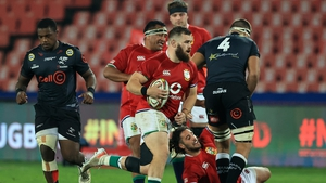 The Lions outclassed the Sharks in Johannesburg on Wednesday