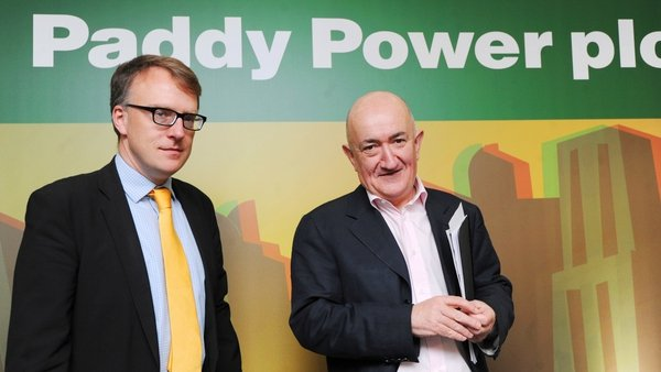 Stewart Kenny (right) co-founded Paddy Power in 1988