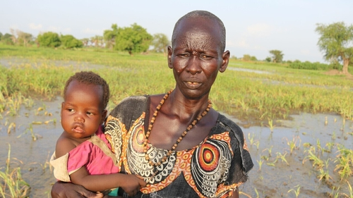 Aid agencies are concerned that serious flooding could destroy harvests, pushing millions closer to famine (Pic: Christian Aid)