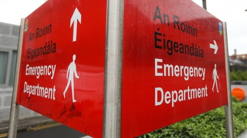 HSE figures show level of overcrowding in EDs is up 47% on this day last year