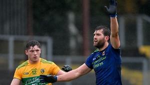 Aidan O'Shea during Mayo's quarter-final against Leitrim last November