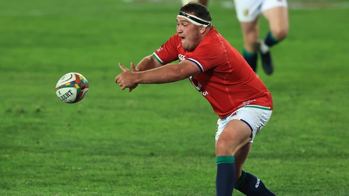 Jamie George will captain the Lions on Saturday