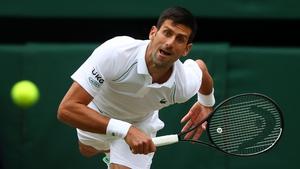 Novak Djokovic is targeting a historic year