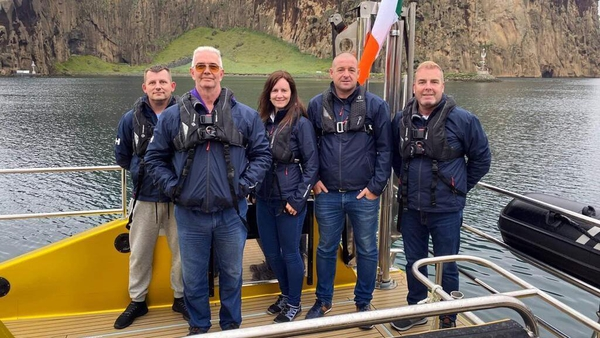 The Safehaven Marine crew made the 866 nautical miles journey in 32 hours