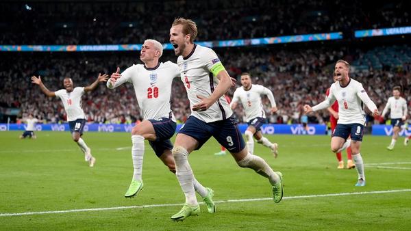Harry Kane has scored four of England's ten goals