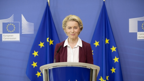Ursula von der Leyen faced sharp criticism at the start of 2021 for failing to ensure companies delivered contracted vaccines