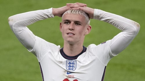 Phil Foden was an extra-time substitute in England's semi-final win over Denmark