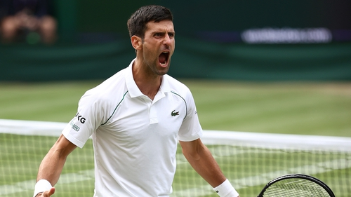 Novak Djokovic is aiming for his third grand slam title of the year