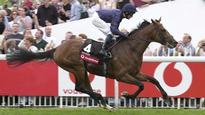 Galileo and Mick Kinane blitzed the field at Epsom in winning the 2001 Derby.