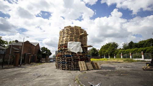 The bonfire at Tiger's Bay is now set to be lit tomorrow night as part of traditional 'Eleventh Night' events