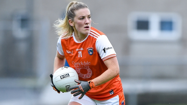 Kelly Mallon scored 1-05 after coming on in the 22nd minute