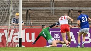 Brian Kennedy scores Tyrone's goal