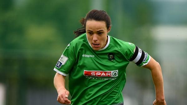 Ireland's O'Gorman found the net twice for Peamount