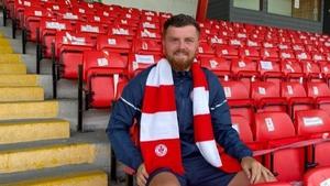 Adam McDonnell is back in Ireland with Sligo Rovers