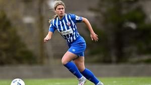 Jenna Slattery scored the Treaty United equaliser