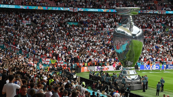 Wembley staged the final of the pan-European tournament