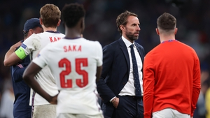 The England manager said: 'That's my responsibility, I chose the guys to take the kicks'