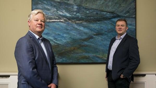 Patrick Lawless, Managing Director of Gresham House Ireland, and Tony Dalwood, CEO of Gresham House