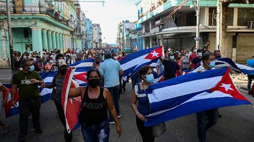 Rare anti-government protests erupt in Cuba