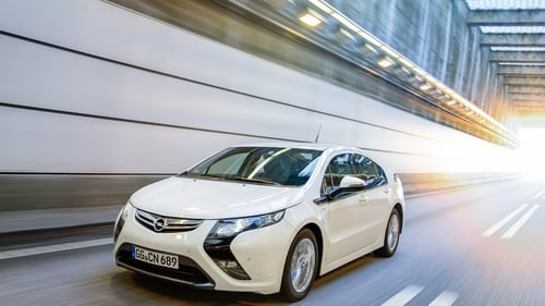 Opel's first electric car - the Ampera- was launched 10 years ago.