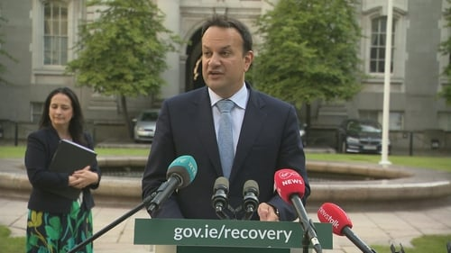 The Government is aiming to have to legislation passed by the Dáil and Seanad before the end of the week