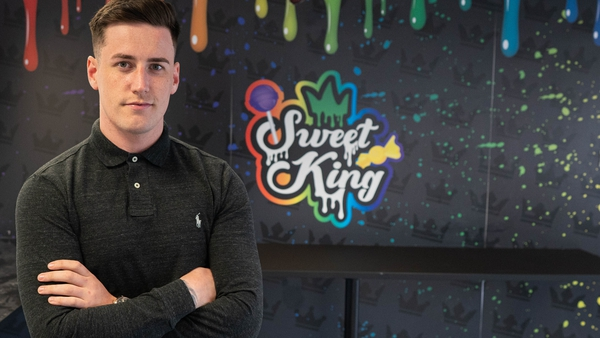 Sweet King's founder Nathan Adams