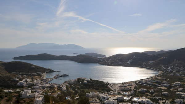 The 23-year-old man died following a fall on the island of Ios